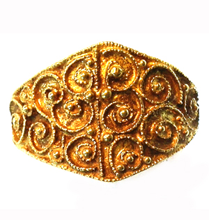 Filigree Ring © Trustees of the British Museum