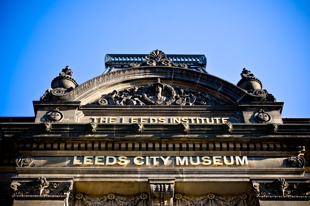 Entry facade at Leeds City Museum the event locations