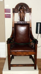 Savage Club Chair at Leeds City Museum © Leeds Museums and Galleries