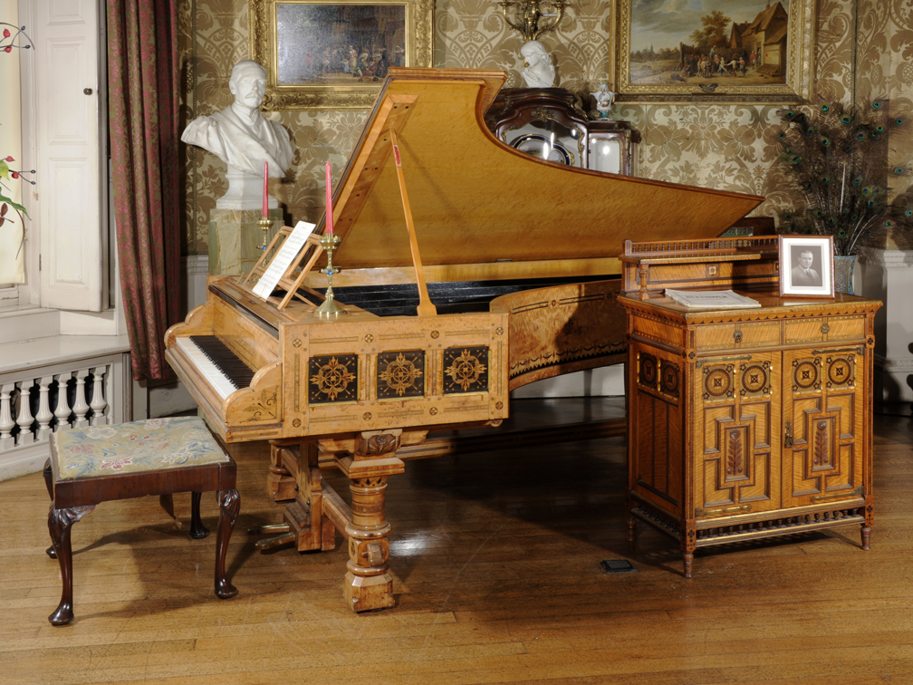 Piano at Lotherton Hall © Leeds Museums and Galleries