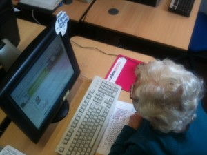 Jean gets to grips with the Internet as she researches Stratford-upon-Avon ready for her trip