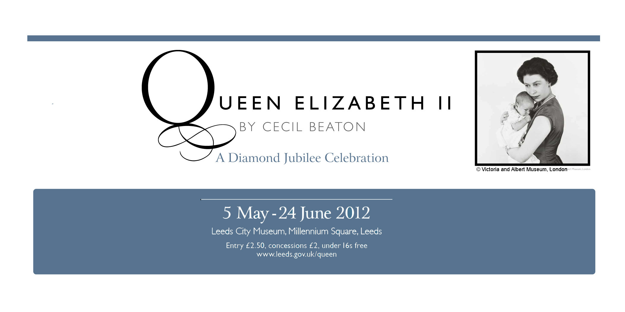 Queen Elizabeth II by Cecil Beaton at Leeds City Museum
